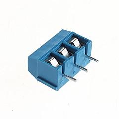 PCB de 3 pines terminales roscados 5.08mm - 300v / 16a (10 piezas)