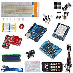 abordables Kits de Bricolaje-r3 uno Funduino unidad de motor L293D módulo de transmisión inalámbrica de datos + +