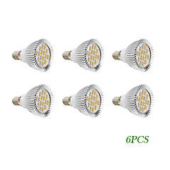 E14 GU10 Faretti LED 16 leds SMD 5730 Bianco caldo Luce fredda 280lm 2500-3500K AC 220-240 AC 110-130V