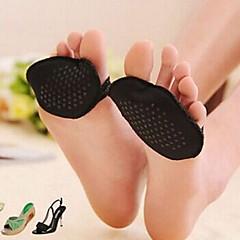 abordables Almacenamiento para Zapatos-zapatos de tacón alto de encaje plantilla para la protección del antepié (color al azar)