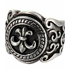 preiswerte Ringe-Damen Statement-Ring - Titanstahl Modisch 8 Silber Für Weihnachts Geschenke Alltag Normal