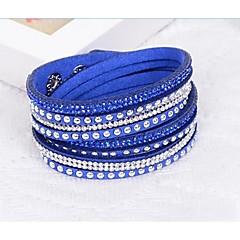 abordables Bijoux pour Femme-Comme l'image - Résine Chaîne Bracelet Noir / Bleu de minuit / Chameau Pour Mariage Soirée Occasion spéciale