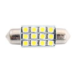 Недорогие Освещение салона авто-SO.K T11 Лампы 2 W SMD LED 80 lm Светодиодная лампа Внутреннее освещение