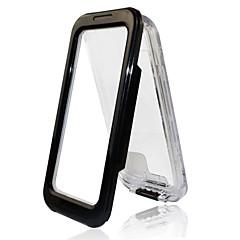 Недорогие Кейсы для iPhone 5-Кейс для Назначение Apple Кейс для iPhone 5 Водонепроницаемый Прозрачный Чехол Сплошной цвет Твердый ПК для iPhone 7 Plus iPhone 7 iPhone
