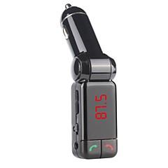 Недорогие Bluetooth гарнитуры для авто-Bluetooth Dual USB автомобильное зарядное устройство AUX-IN, FM-передатчик hansfree микрофон для iphone 6 6 плюс 5s 4s и других