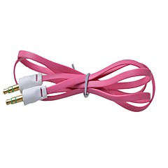 cheap Cables & Adapters-3.5 mm  Male to Male Color Small Noodles Audio Connection Cable Flat Type(1M) (Assorted Colors)