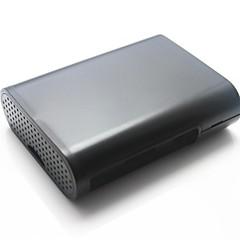 suojaava ABS kotelo laatikko vadelma pi b + - musta