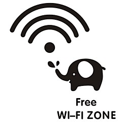 luova wifi signaali kytkin tarra