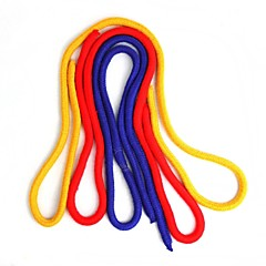 magiczne rekwizyty - 3 kolorowy łańcuch liny
