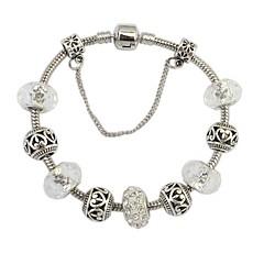 preiswerte Armbänder-Damen Bettelarmbänder - Strass Europäisch, Modisch Armbänder Weiß / Silber Für Alltag