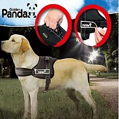 お買い得  犬用首輪/リード/ハーネス-犬 ハーネス 調整可能 / 引き込み式 パッド入り ナイロン ブラック レッド 迷彩色