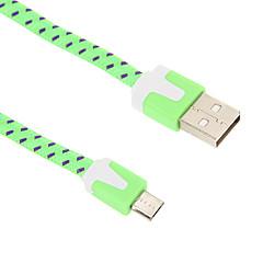 Kabel Micro USB Ładowarka 200cm tkania z makaronem