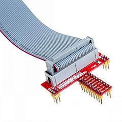 voordelige Accessoires-26 pins gespecificeerde datakabel en t GPIO uitbreidingskaart accessoire voor Raspberry Pi b +