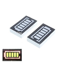 5 Segment Red and Green Digital Display Battery (2PCS)