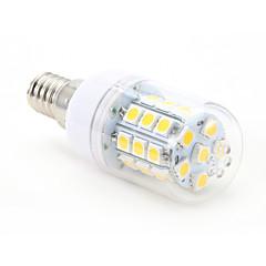 4W E14 LED a pannocchia T 30 leds SMD 5050 Bianco caldo 300-350lm 2800-3000K AC 220-240V