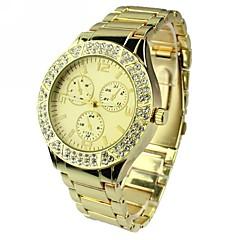 お買い得  レディース腕時計-女性用 クォーツ 合金 バンド ハンズ シルバー / ゴールド / ローズゴールド - シルバー ゴールデン ローズゴールド