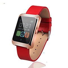 abordables Tecnología Inteligente-Reloj elegante UPAD6 para iOS / Android Temporizador / Reloj Cronómetro / Seguimiento de Actividad / Seguimiento del Sueño / Monitor de Pulso Cardiaco / 1.3 MP / Llamadas con Manos Libres