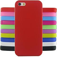Недорогие Кейсы для iPhone 4s / 4-Кейс для Назначение iPhone 4/4S Apple iPhone X iPhone X iPhone 8 iPhone 8 Plus Кейс на заднюю панель Мягкий Силикон для iPhone X iPhone 8