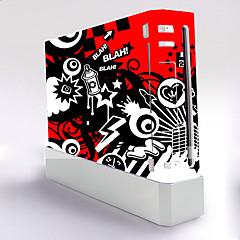 お買い得  Wii U用バッグ&ケース-B-SKIN ステッカー 用途 WiiのU / Wii 、 アイデアジュェリー ステッカー PVC 1 pcs 単位