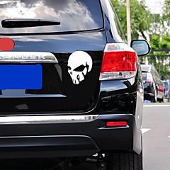 preiswerte Auto Aufkleber-Autoaufkleber mit Teufel Schädel Car-Styling