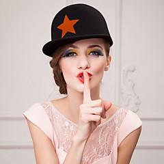 Недорогие Женские украшения-спортивный стиль шерсти мужчины и женщины на открытом воздухе / случайный шляпа (больше цвета)