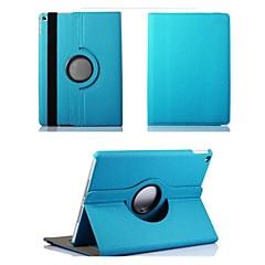 abordables Carcasas y Fundas para iPad Air 2-Funda Para Apple con Soporte / Rotación 360º / Origami Funda de Cuerpo Entero Un Color Textil para iPad Air 2