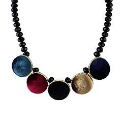 preiswerte Halsketten-Damen Stränge Halskette - Grün, Regenbogen Modische Halsketten Schmuck Für Hochzeit, Party, Alltag