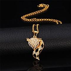preiswerte Halsketten-Damen Synthetischer Diamant - Strass Fuchs, Tier Retro, Party, Büro Niedlich Gold, Silber Modische Halsketten Schmuck Für Besondere Anlässe, Geburtstag, Geschenk