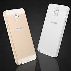 billige Galaxy Note 3 Etuier-For Samsung Galaxy Note Andet Etui Bagcover Etui Helfarve Akryl for Samsung Note 3