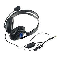 お買い得  PS4用ヘッドセット-DF-0053 ヘッドフォン - PS4 ソニーPS4 アイデアジュェリー ワイヤード