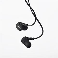 genuina de 3.5mm para auriculares miniso en el canal auditivo bajo estupendo con micrófono remoto para Samsung s4 s5 s6
