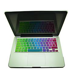 """coosbo® színes francia azerty szilikon billentyűzet fedél bőr iMac g6 13 """"/ 15"""" / 17 """"MacBook Air pro / retina"""