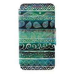 billige Galaxy A3 Etuier-Etui Til Samsung Galaxy Samsung Galaxy etui Kortholder Med stativ Flip Magnetisk Mønster Fuldt etui Ord / sætning PU Læder for A8 A7 A5 A3