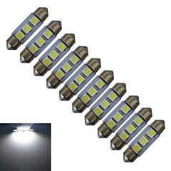 preiswerte LED-Birnen-jiawen 36mm 0,5 watt 60lm autolampen 3leds smd 5050 leselicht kaltweiß dc 12v