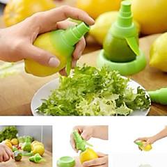 1 stuks Manual Juicer For voor Fruit Kunststof Creative Kitchen Gadget / Hoge kwaliteit / Noviteit