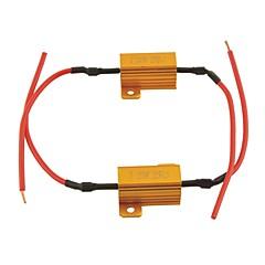 abordables Luces de Coche-2pcs Coche Bombillas 25W Accesorios For Universal