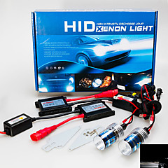 cheap Car Headlights-H7 Car Light Bulbs 55W 3200lm HID Xenon Headlamp For GreatWall / BMW / Ford