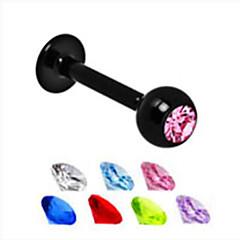 Dam Kroppssmycken Läpp Piercing/Läpp Ring Kristall Unik design Mode Smycken Smycken Dagligen Casual 1st