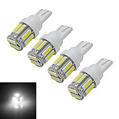 お買い得  LED 電球-210 lm T10 デコレーションライト 10 LEDの SMD 7020 クールホワイト DC 12V