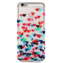 Недорогие Кейсы для iPhone-любовный узор tpu чехол для задней крышки для iphone 6 iphone cases