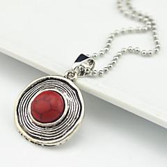 preiswerte Halsketten-Damen Türkis Anhängerketten - Türkis Braun, Rot, Grün Modische Halsketten Für Party, Alltag, Normal