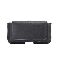 Недорогие Универсальные чехлы и сумочки-Кейс для Назначение iPhone 5 / универсальный Кошелек / Бумажник для карт Чехол Однотонный Мягкий Кожа PU для iPhone SE / 5s