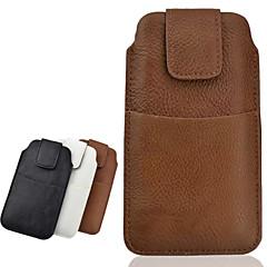 Недорогие Универсальные чехлы и сумочки-Кейс для Назначение iPhone 6s Plus / iPhone 6 Plus / iPhone 6s Кошелек / Бумажник для карт Мешочек Однотонный Мягкий Кожа PU для