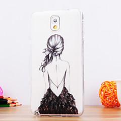 Χαμηλού Κόστους Galaxy Note 3 Θήκες / Καλύμματα-Για Samsung Galaxy Note Με σχέδια tok Πίσω Κάλυμμα tok Σέξι κυρία TPU Samsung Note 3