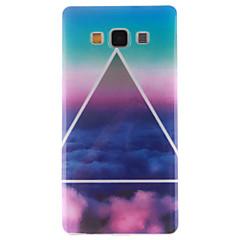 olcso Galaxy A5 tokok-Mert Samsung Galaxy tok Minta Case Hátlap Case Látvány TPU Samsung A5