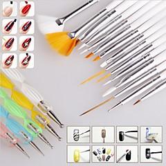 billiga Nagelpenslar-Nail Art-uppsättning Nail Art Decoration Tool Kit makeup Kosmetisk Nail Art-GDS