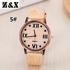 preiswerte Tolle Angebote auf Uhren-Damen damas Armbanduhr Quartz Schlussverkauf Leder Band Analog Retro Streifen Modisch Mehrfarbig - 3 # 4 # 5 #