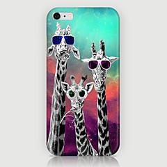три жирафа модель телефона задняя обложка чехол для iphone5c