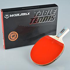winmax® 1 gwiazdka singiel tenis stołowy / ping-pong rakieta krótki uchwyt z kolorowym opakowaniu