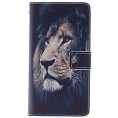 Недорогие Чехлы и кейсы для LG-Кейс для Назначение LG G3 Mini LG G3 LG L70 LG LG G4 Кейс для LG Бумажник для карт Кошелек со стендом Флип Чехол Животное Твердый Кожа PU